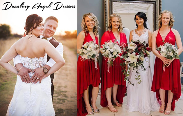 DAZZLING ANGEL DRESSES | Gauteng, North West, Free State, Limpopo